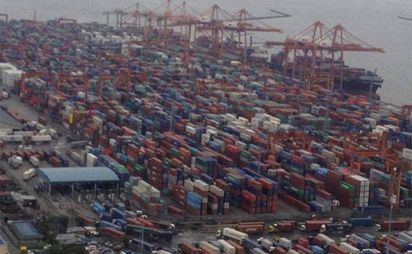 congestion at west coast ports